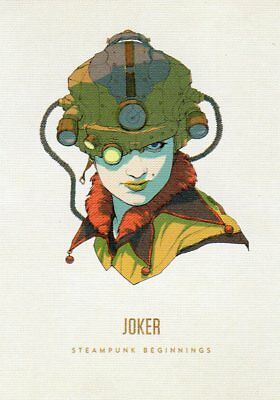 "RARE MINT ""Bicycle Type - Woman with Camera on Head"" JOKER Playing Card #19"