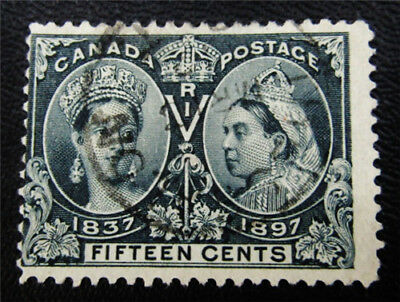 nystamps Canada Stamp # 58 Used $190