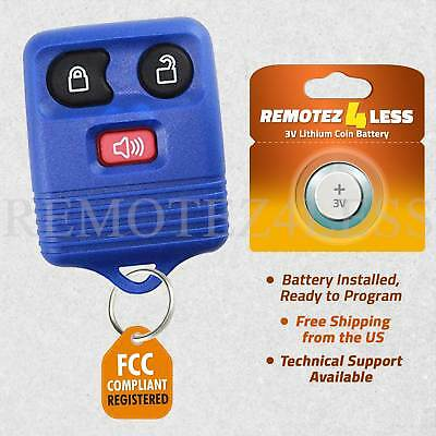 Keyless Remote for 2007 2008 2009 2010 2011 2012 2013 2014 2015 Ford Edge Blue