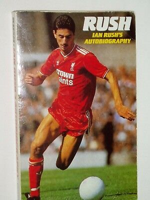 IAN RUSH.....Liverpool ..Autograph in his football Book....Ex