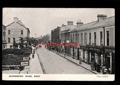 IRELAND Co Wicklow BRAY QUINSBORO' ROAD CANTON TEA HOUSE Killick POSTCARD - 06