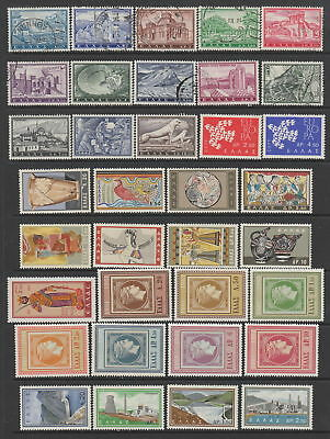 Greece 1961 - 1963 collection , 72 stamps. MH or fine used