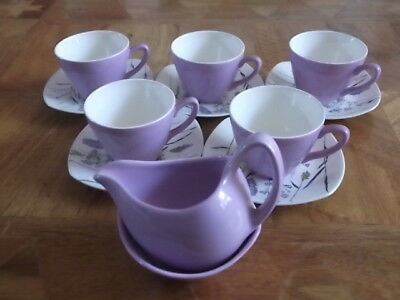 A Delightful Coffee Set For Five By Midwinter - Whispering Grass