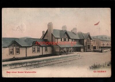IRELAND Co Kerry WATERVILLE BAY VIEW HOTEL Lawrences POSTCARD 1905 - 38