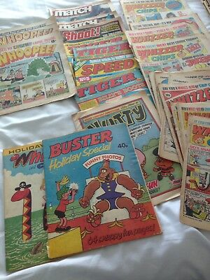 Collection Of Comics - Whizzed, Whoopee, Plus Holiday Specials