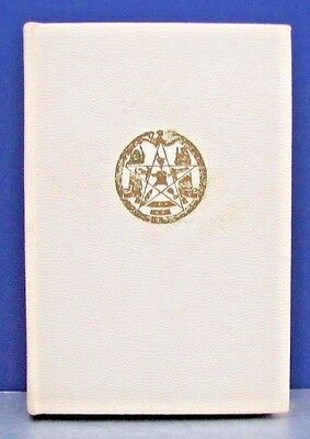 RARE 1952 AUTHORIZED STANDARD RITUAL ORDER OF THE EASTERN STAR State of New York