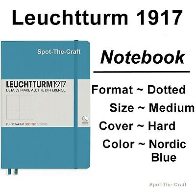 Leuchtturm1917 Dotted Journal Notebook Medium A5 Nordic Blue 354586