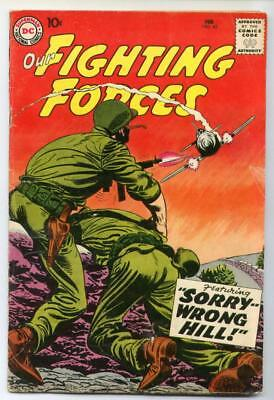 Our Fighting Forces #42 (Ross Andru) Silver Age-DC Comics VG+   {Randy's Comics}