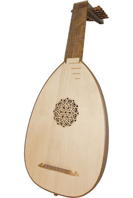 Roosebeck Deluxe 7-Course Lute - Walnut
