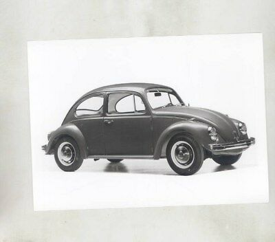 1968 Volkswagen Beetle ORIGINAL Factory Photograph wy7103