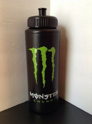Monster Energy Athlete Plastic Big Squeeze Water Bottle 32 Ozs NEW