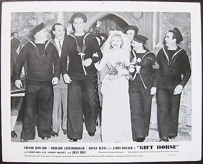 Gift Horse 1952 Dora Bryan Sonny Tufts 2 Original UK Lobby Cards