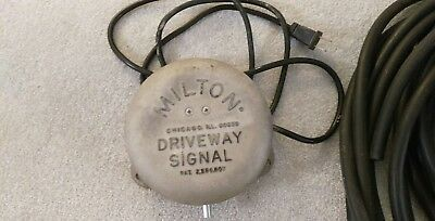 Milton Driveway Signal bell and hoses - works perfectly
