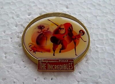 *~* Disney The Incredibles Dvd/video Release Gwp Pin *~*
