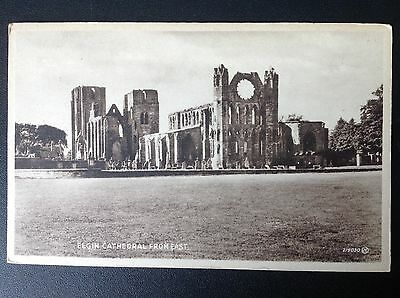 Elgin Cathedral from East