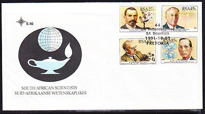 South Africa 1991 Scientists Souvenir Cover - Unaddressed