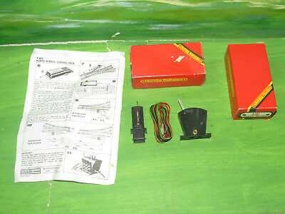 2x Hornby R663 Point Remote Control Sets (Point Motor, lever, wiring) - OO Gauge