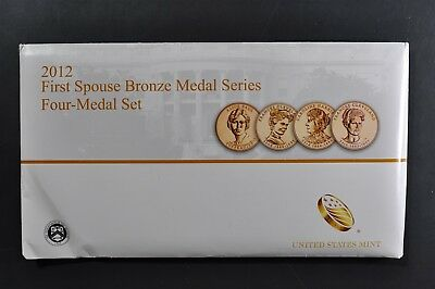 2012 First Spouse Bronze Medal Series Four-Medal Set