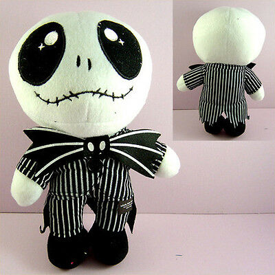 HOT Nightmare Before Christmas Jack 9.5'' Plush Toy Doll + CHARM