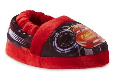 DISNEY CARS 3 McQUEEN Plush Slippers Toddler's Sz. 7-8, 9-10 or Boys 11-12, 13-1
