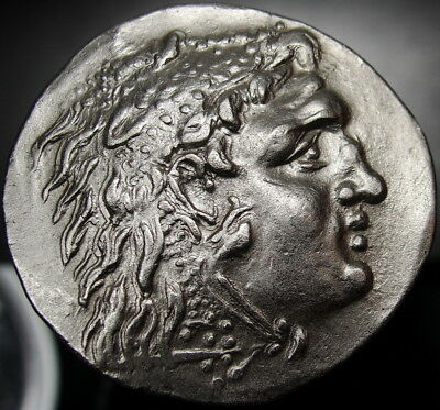 Alexander the Great GIGANTIC Masterpiece ⭐️tetradrachm. RARE Ancient Greek coin