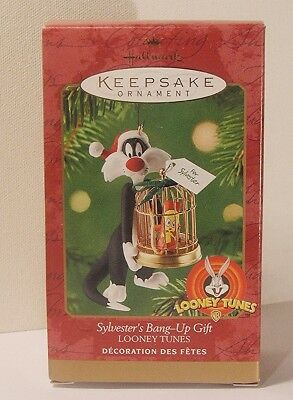 Hallmark Keepsake Sylvester's Bang Up Gift w Tweety Looney Tunes New NRFB Mint