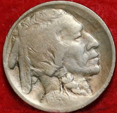 1913-S San Francisco Mint Type I Buffalo Nickel Free Shipping
