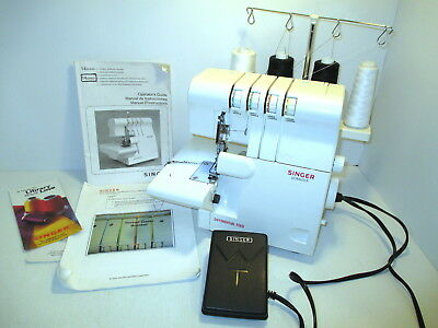 Singer Ultralock Overlock Serger Sewing Machine w/Differential Feed #14SH654