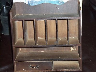 Wood Country Store Organizer Iob