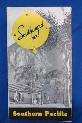Vintage 1935 Southern Pacific Railroad Brochure