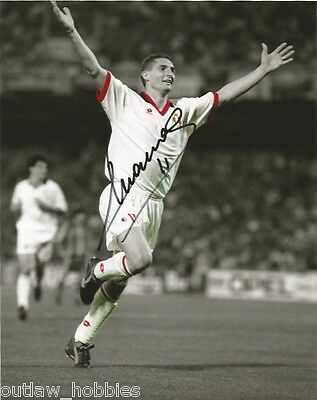 Milan Daniele Massaro Autographed Signed 8x10 Photo COA