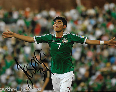 Mexico Jonathan Espericueta Autographed Signed 8x10 Photo COA
