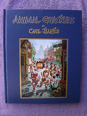 Animal Quackers By & Signed Carl Barks 432/1000 1st. Edition. W/Litho Great Cond
