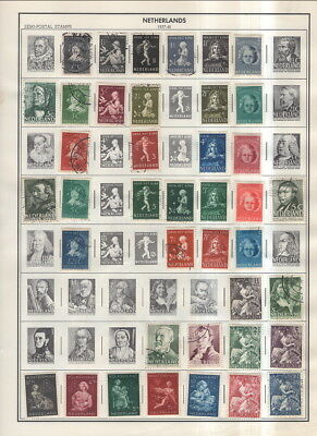 Netherlands / Netherlands Antilles On Harris Album Pages 1937 To 1985!