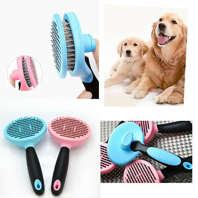 Shed Pal Cat Dog Pet Hair Remover Shedding Grooming Brush Comb Vacuum Cleaner
