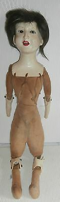 estate Mysterious  antique  Doll   Germany   signed  as is  condition