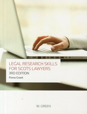 Legal Research Skills for Scots Lawyers (Paperback), Grant, Fiona, 9780414018259