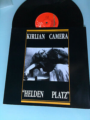 "LP 1987 MINT  Italo Disco 12"" KIRLIAN CAMERA Helden Platz RARE"