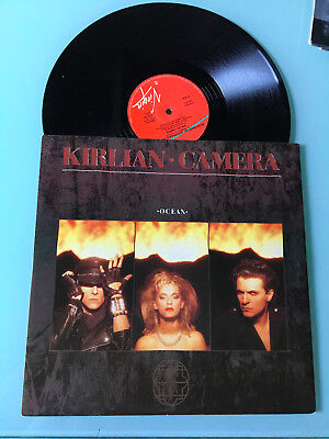 "LP 1986 MINT  Italo Disco 12""  Kirlian Camera ‎– Ocean Label: Virgin ‎– VINX 141"