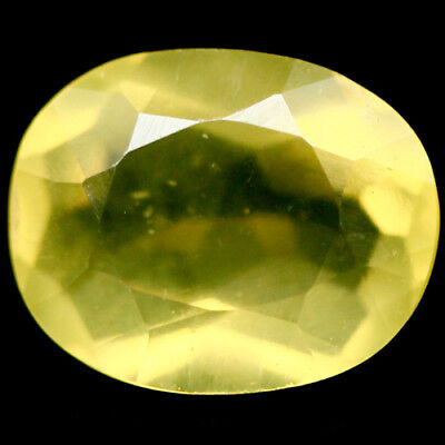 1.60 Ct Natural! Yellow Mexican Opal Oval