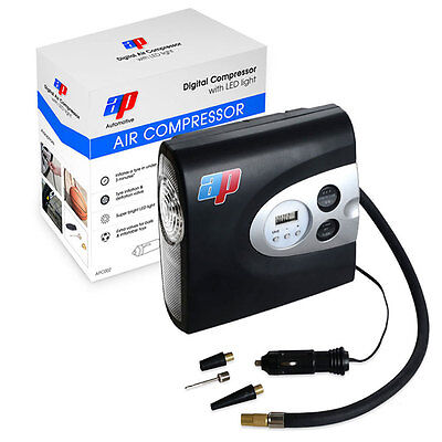 12v Digital Air Compressor Car Van Tyre Pump