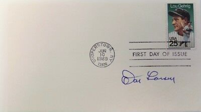 Don Larsen New York Yankees Signed Gateway First Day Cover