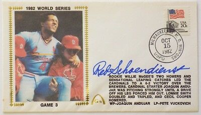 Red Schoendienst St. Louis Cardinals Signed Gateway First Day Cover