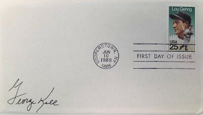 George Kell Detroit Tigers Signed First Day Cover