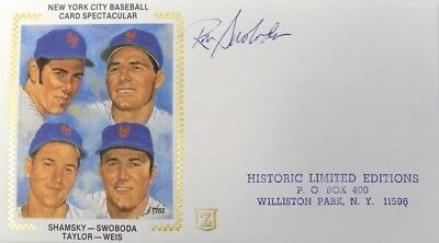 Ron Swoboda New York Mets Signed First Day Cover