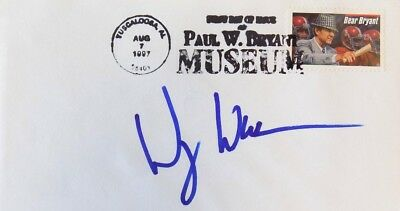 Wesley Walker New York Jets Signed First Day Cover
