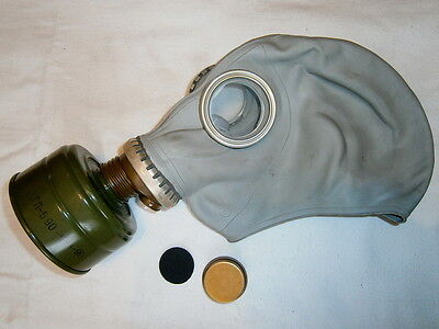 Soviet Gas Mask Nuclear Radiation Filter USSR Army Russian Military Surplus GP-5