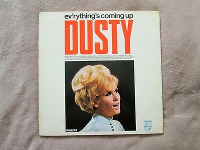 Rare SIGNED Dusty Springfield EVERYTHING'S COMING UP DUSTY Philips LP 1965