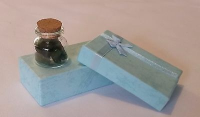 Greenstone- Good Luck Gift Bottle  - New Zealand Greenstone - FREE POST carving