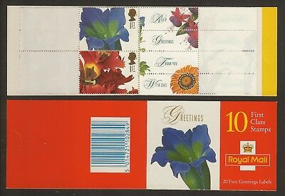 GB Stamps: 1997 Greetings Booklet KX9.